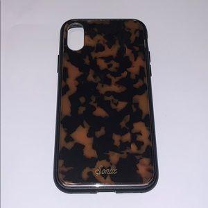 Sonix Brown Tort iPhone XS Case